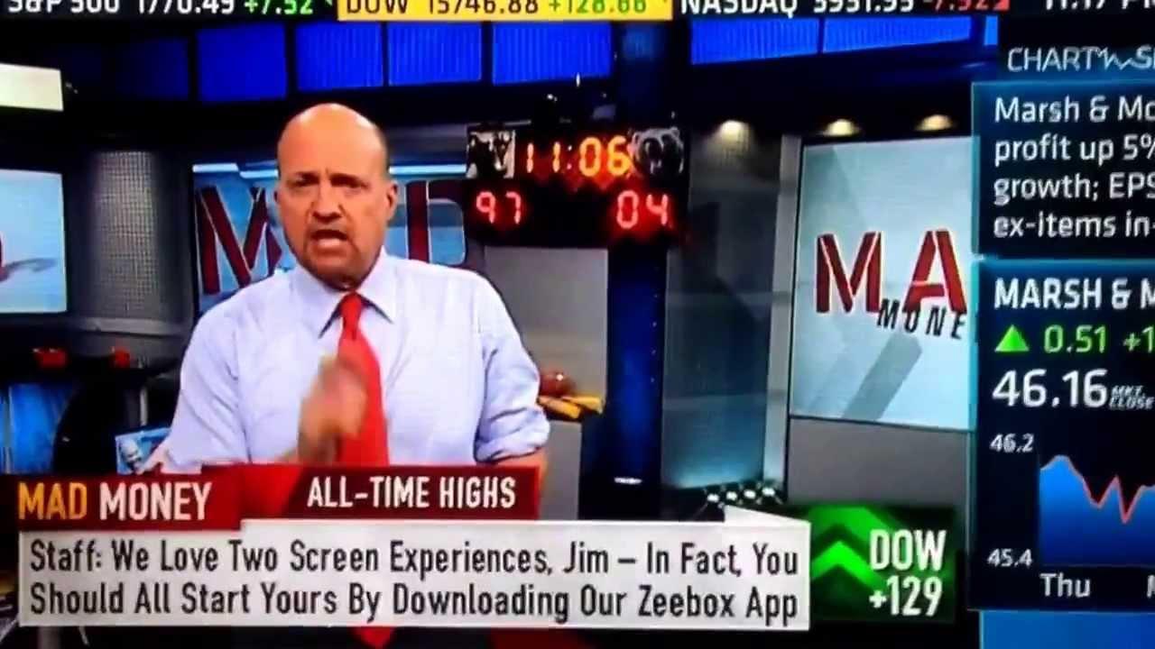 Jim Cramer talks Twitter IPO on CNBC Mad Money - YouTube