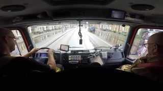 Wateroverlast Agatha Dekenstraat - Autospuit Teunis (2015)