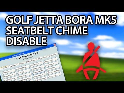 Volkswagen seatbelt chime disable - mr-fix info