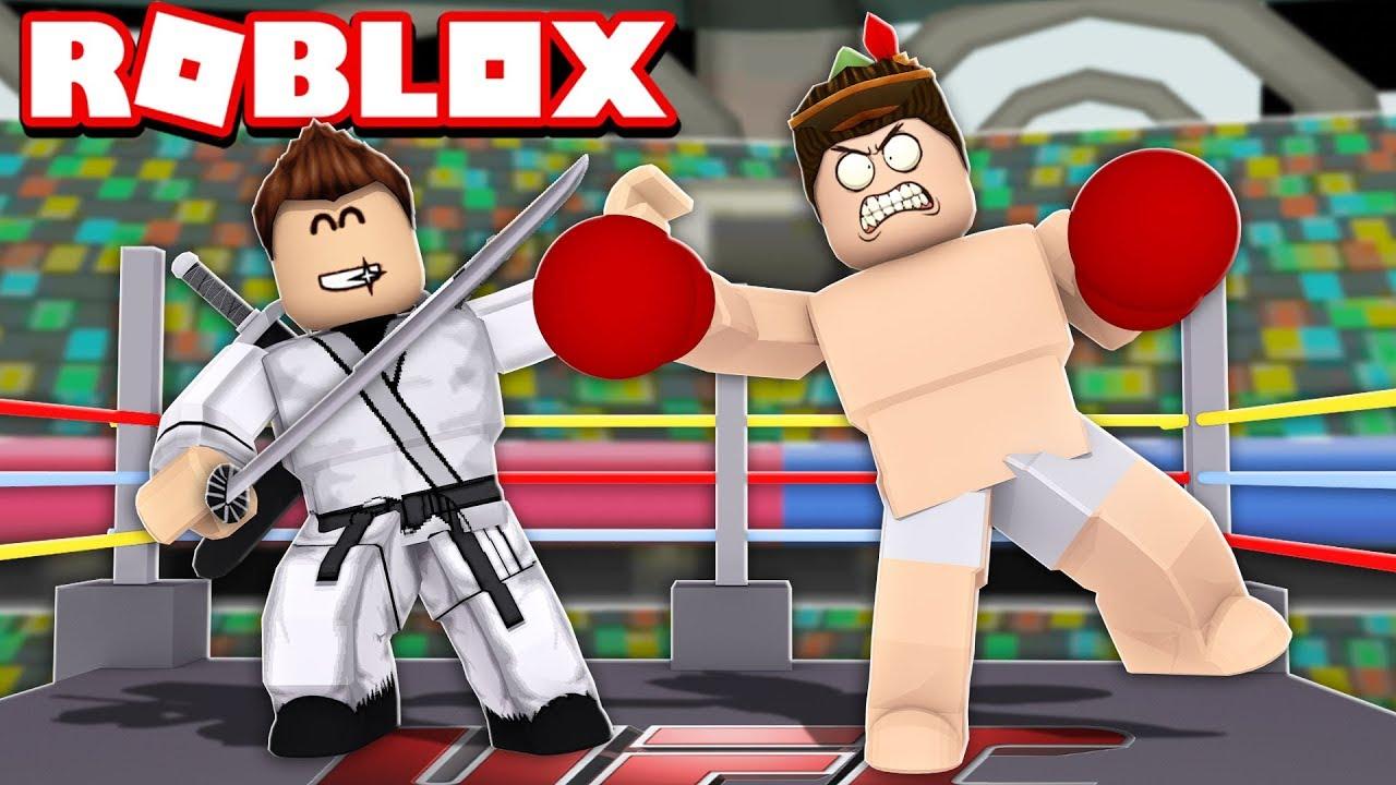 VIREI UM NINJA E GANHEI PETS GÊMEOS NO ROBLOX!! (Fighting Simulator)