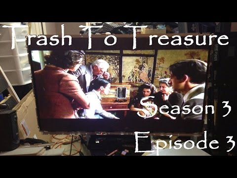 Trash To Treasure Season 3 Episode 3 - Dumpster Diving Web Series - I Found A 50 Inch Plasma TV