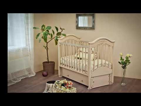 Детские кроватки: виды и характеристики