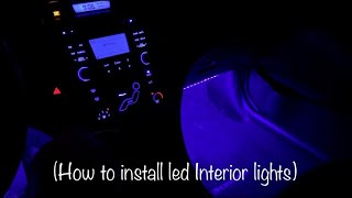 How to install Alpena Ezlink led lights! (Looks Great) (Cheap) (Walmart)