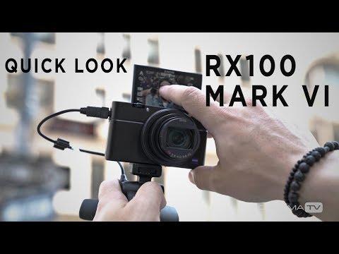 Sony Cyber-shot DSC-RX100 VI Digital Camera DSCRX100M6/B - Adorama