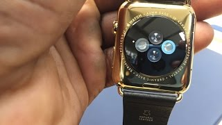 Apple Watch Edition 18-K Gold Hands On, Is It Worth 17K?