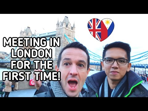 WE FINALLY MET IN LONDON FOR THE FIRST TIME | Gay Couple 7000 Miles
