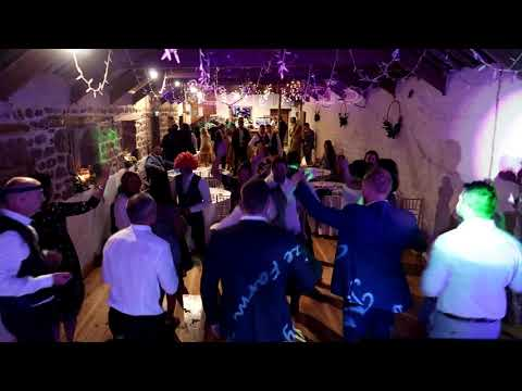 Fabulous wedding at Chypraze Farm with Mr and Mrs Moyle and SoundONE Cornwall Wedding DJ