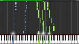 Synthesia - Gladiator - Now We Are Free - Piano Tutorial HD