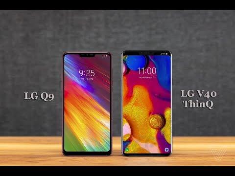 LG Q9 | Vs.| LG V40 ThinQ - Quick comparison