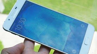samsung galaxy a8 new slimmest smartfone review