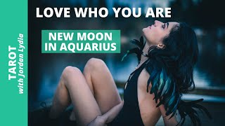New Moon in Aquarius: Love Who You Are