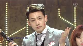 Cover images 【HD 繁中字】Rain LA SONG@SBS Inkigayo 140126