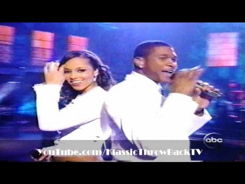 "Usher & Alicia Keys - ""My Boo"" Live (2004)"