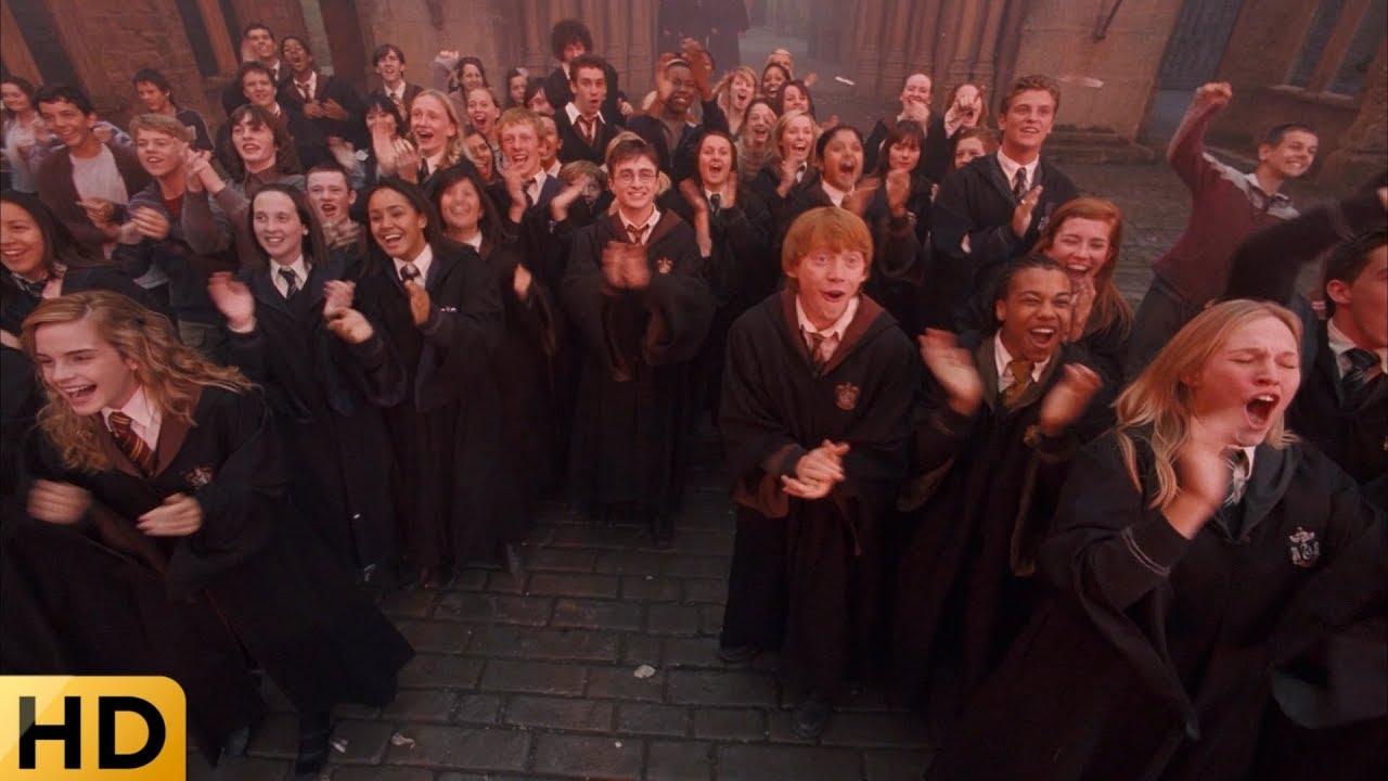 Братья Уизли срывают экзамены СОВ. Гарри Поттер и Орден ...