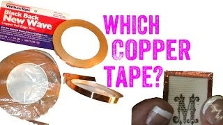 Copper Foil for Soldering Glass Pendants Jewelry