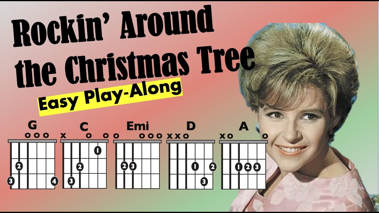 Rockin' Around the Christmas Tree - Moving Chord Chart - YouTube