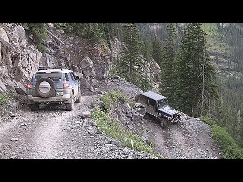Black Bear Pass Colorado >> Black Bear Pass Colorado 4x4 Trails 2016 - YouTube