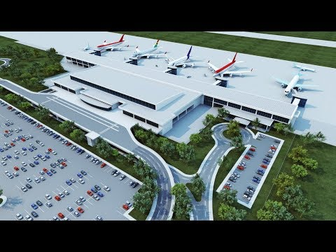 Ghana Builds New State of the Art New Airport Terminal