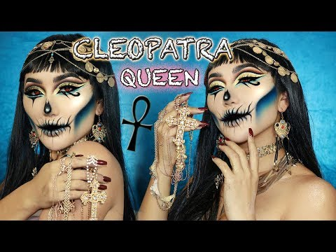 THE RISE OF CLEOPATRA || HALLOWEEN MAKEUP TUTORIAL