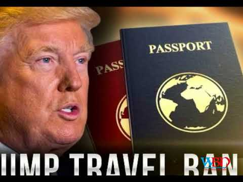 Donald trump signs new travel ban targeting six muslim nations leaves iraq out