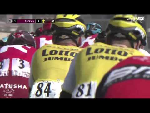 Tour of Qatar 2016 HD   Stage 2   FULL BROADCAST