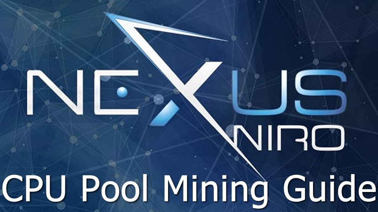 How To Connect To The Nexus Mining Pool How To Build Mining Rig Case