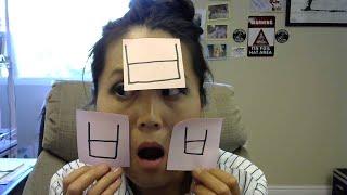 "Series 1, Consonants. Episode 6: ""bee-up"" ㅂ  Learn Korean ( hangul  한글 ) via the Elizabish method."