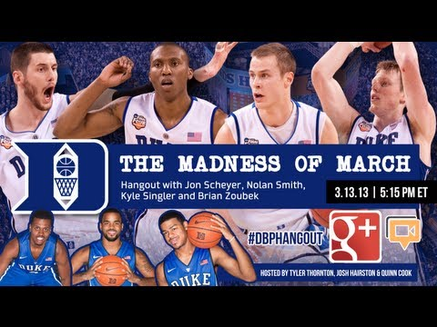 #DBP Hangout: Madness of March