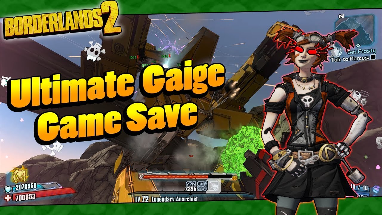 Borderlands 2 | My OP8 Ultimate Gaige Game Save