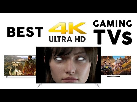 5 Best 4K GAMING TVs of 2017