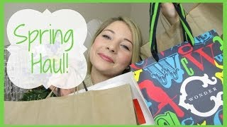 Spring Haul! | Rebecca Minkoff, J.Crew, C. Wonder, Tory Burch & More Thumbnail