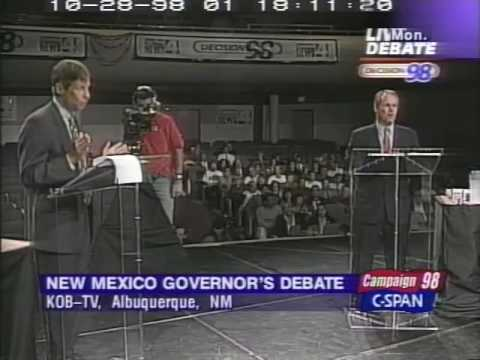 Gov. Gary Johnson - New Mexico Gubernatorial Debate 10/26/1998