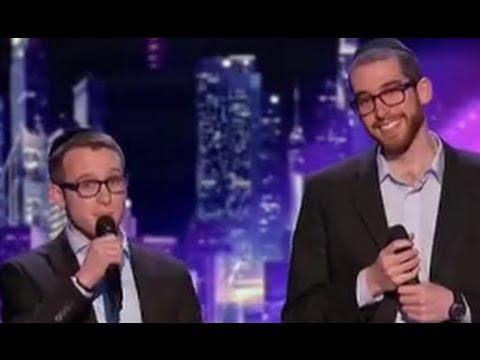 Orthodox Jewish Beat-Boxers Ilan And Josh Judge Cuts 3 Full | America's Got Talent 2016
