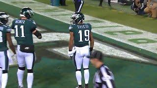 Golden Tate III First Touchdown as an Eagle.