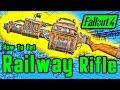 Fallout 4: Secret Hidden Railway Rifle Location Guide (READ DESCRIPTION)