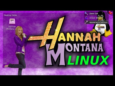 Hannah Montana Linux (Overview & Demo) - Bizarre Operating Systems