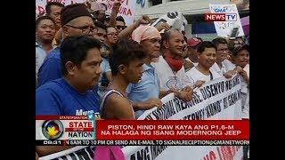 SONA: Piston, nagsagawa ng transport caravan bilang pagtutol sa jeepney modernization