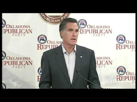 Romney: Marriage is between man & woman