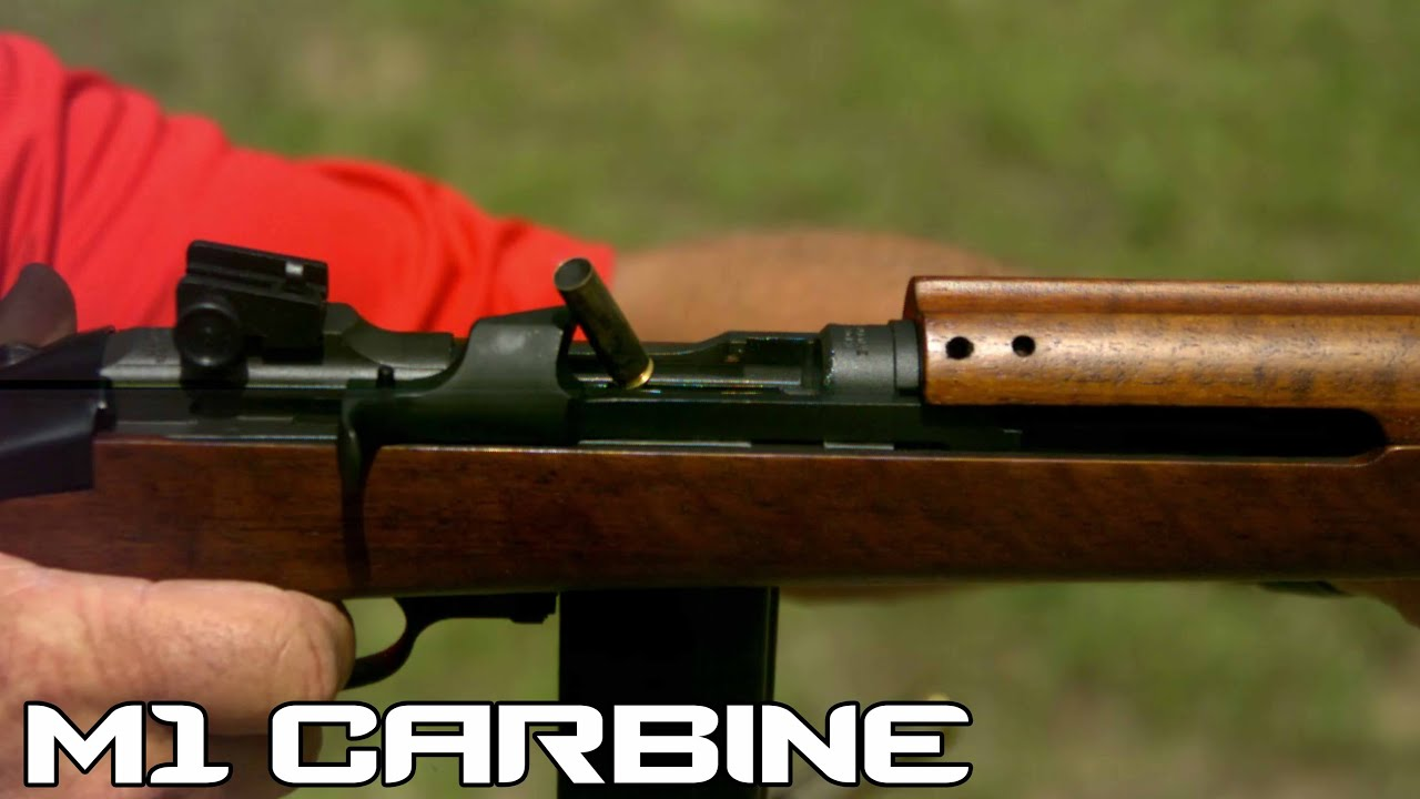 M1 Carbine Amp Paratrooper With Folding Stock 4k