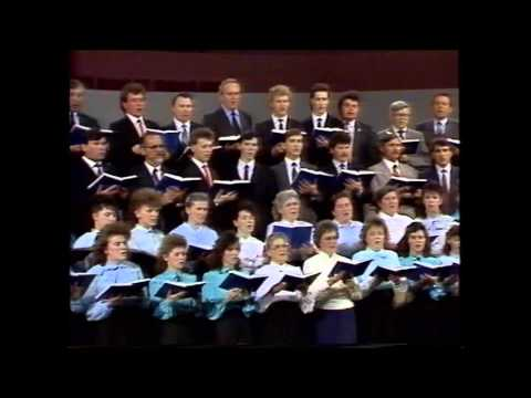 Хор церкви ДІМ МОЛИТВИ Лондон Канада 1990