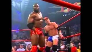 Monty Brown Abyss and Jeff Jarrett vs Jeff Hardy Lance Hoyt and AJ Styles
