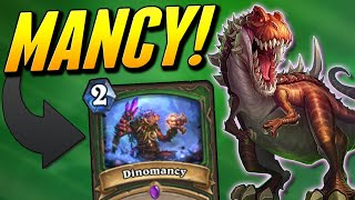 Dinomancy Quest Hunter is not a Joke Mmkay?   Wild Hearthstone Saviors of Uldum   Solem
