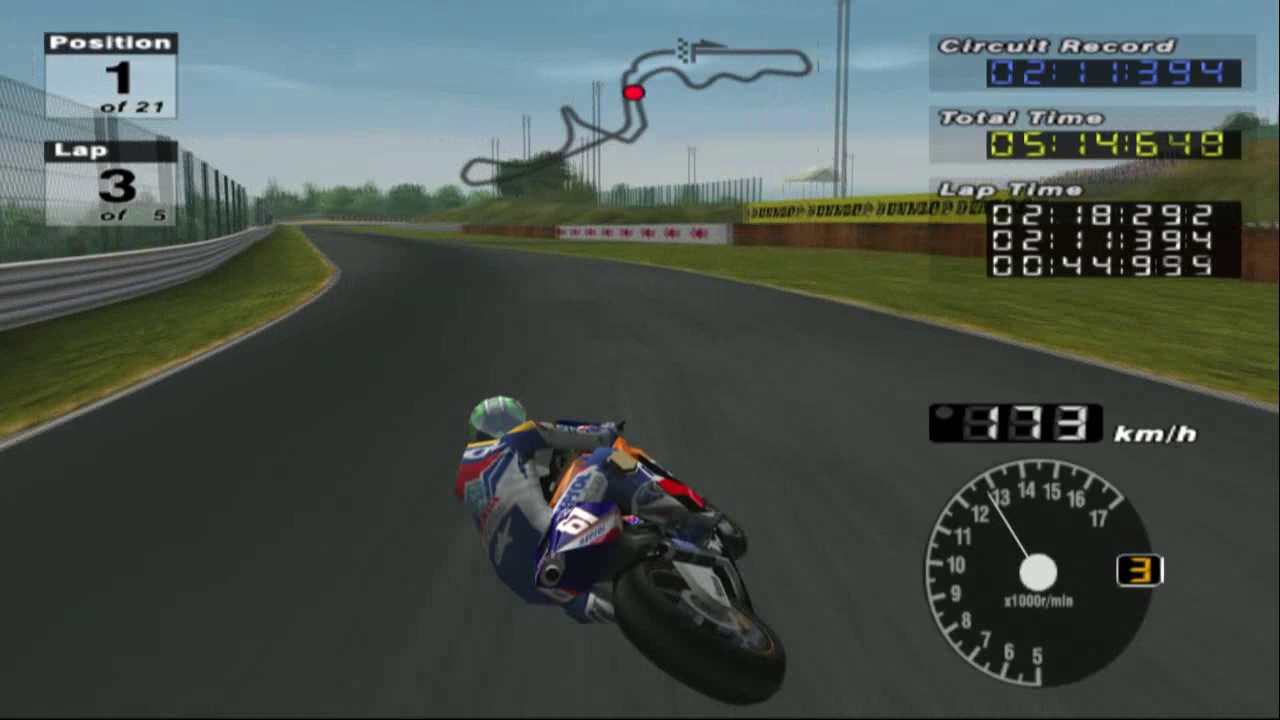 MotoGP 3 PS2 | Suzuka | Honda RC211V | Repsol Honda Team - YouTube