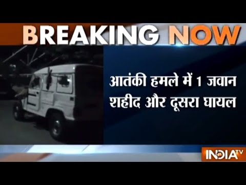 Terrorists Attack at Police Picket in J&K's Shopian, One Cop Killed