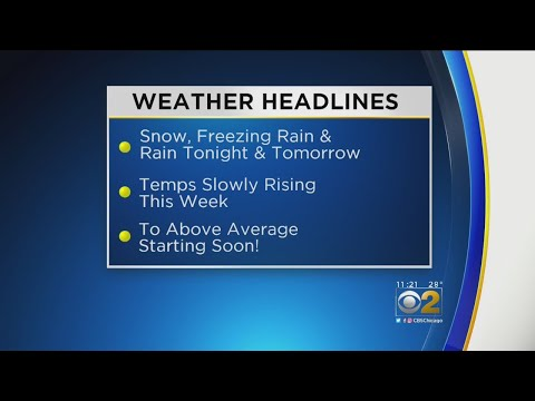 CBS 2 Weather Watch (11AM, Feb. 19, 2019) – Chicago Alerts