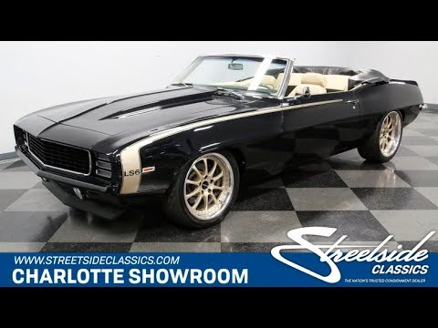 1969 Chevrolet Camaro RS LS6 Pro Touring For Sale [4687 CHA]
