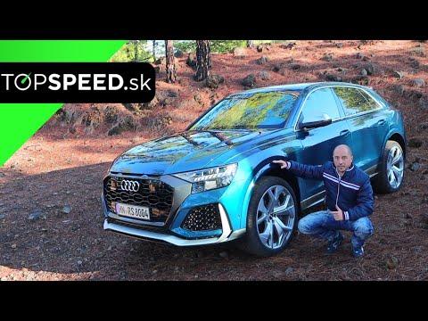 Audi RS Q8 V8 TFSI Jazda - Najrýchlejšie SUV Sveta - Maroš ČABÁK