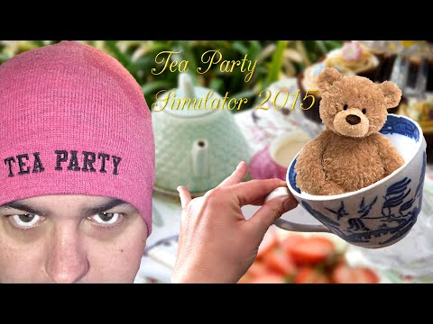Tea Party Simulator 2015 /// Hilarious!!