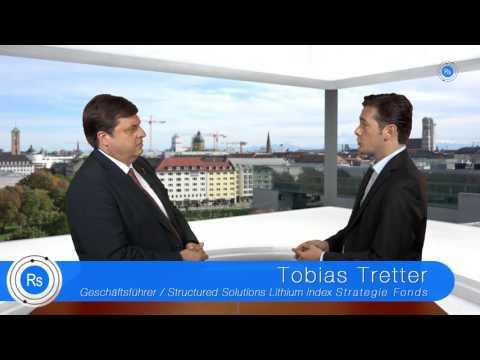 Tobias Tretter: Lithium-Nachfrage steigt um 300% bis 2020