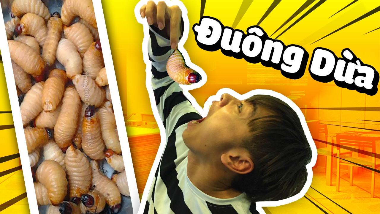 THỬ THÁCH ĂN ĐUÔNG DỪA (Challenge với Channy, Nấm, Mazk, Tippy, Nabee, Sơn  Mindhack) - YouTube